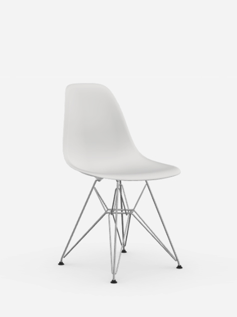 Eames Plastic Chair – DSR – White