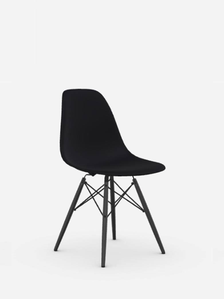 Eames Plastic Chair – DSW – Black