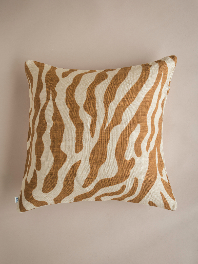 Zebra – Taupe – 50 x 50
