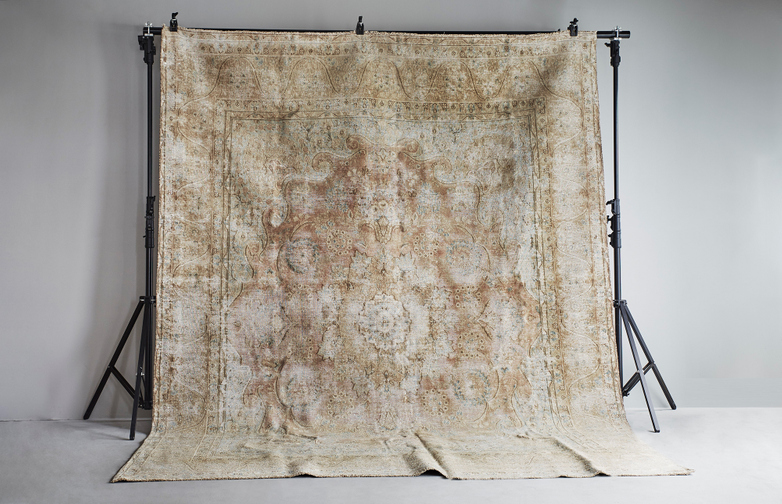Antique Kerman Wool – 291 x 380