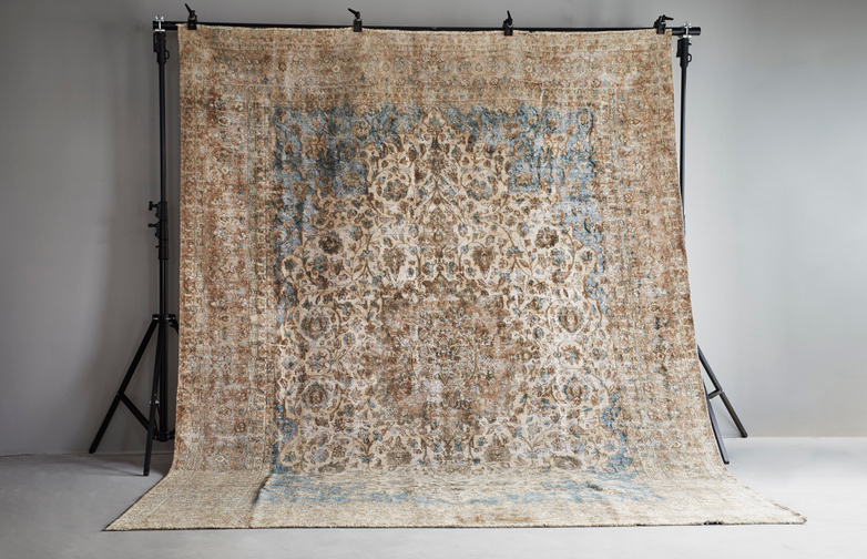 Antique Kerman Wool – 287 x 375