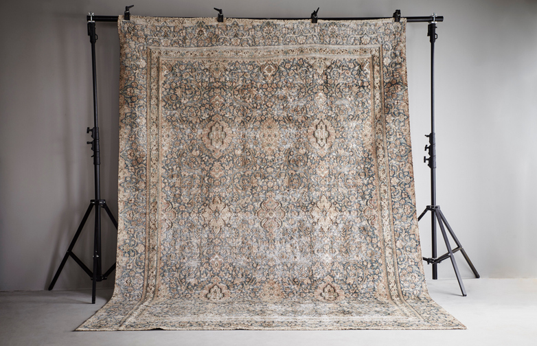 Antique Kerman Wool – 261 x 362