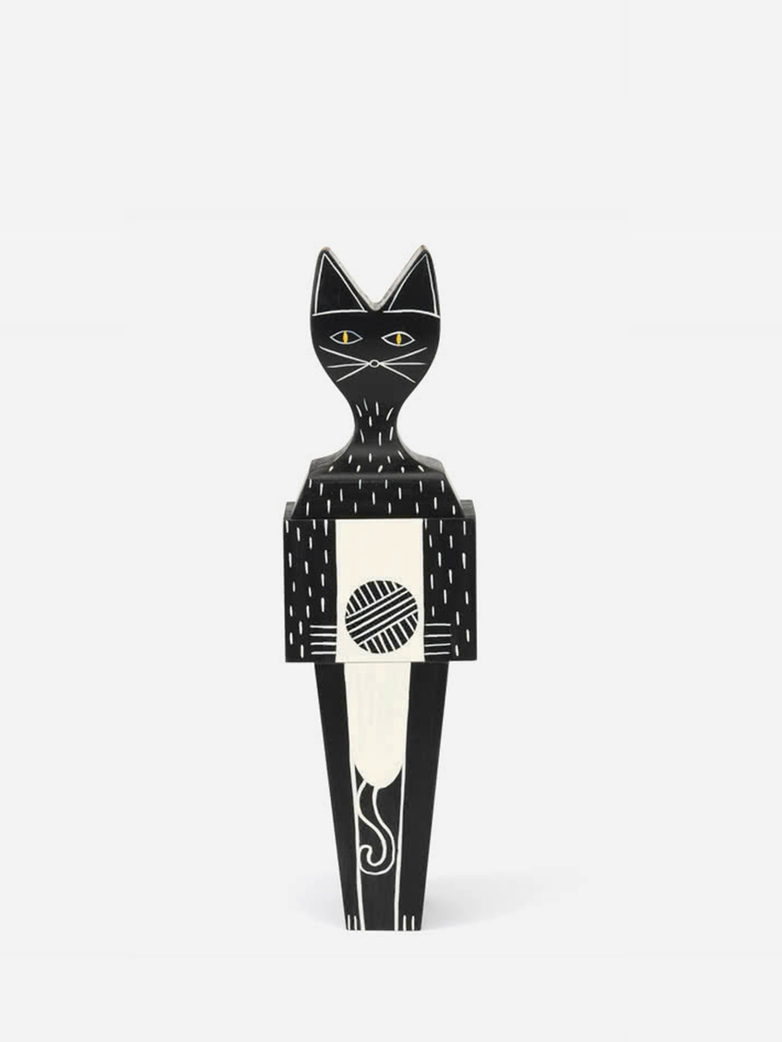 Wooden Cat – Large