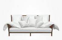 Gray 03 Sofa – Category B – Natural Lino Bianco