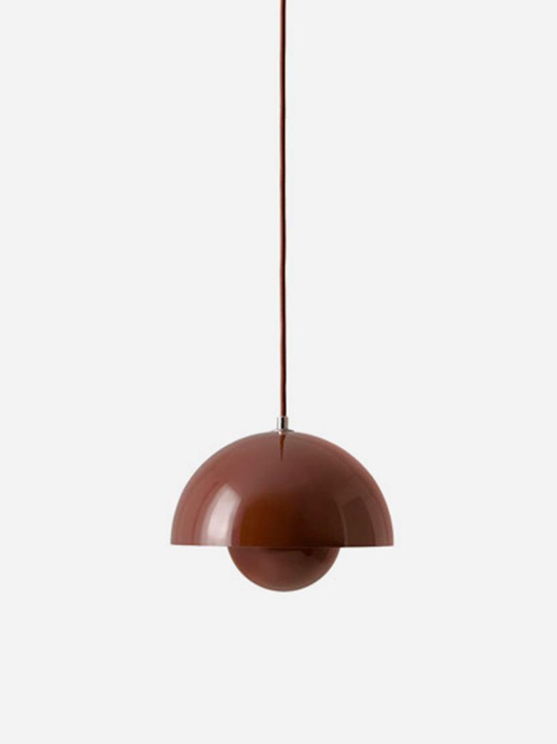 Flowerpot Pendant VP1 – Red Brown