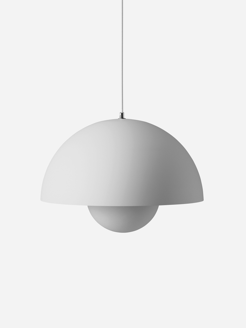Flowerpot Pendant VP2 – Matt Light Grey