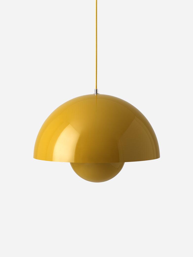 Flowerpot Pendant VP2 – Mustard