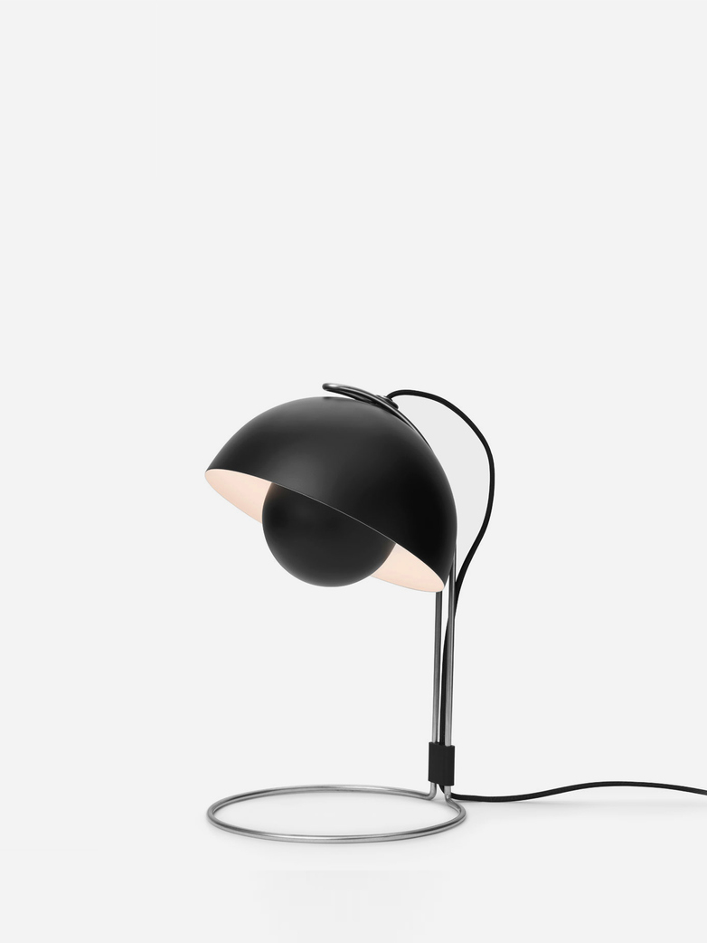 Flowerpot VP4 Table Lamp – Matt Black
