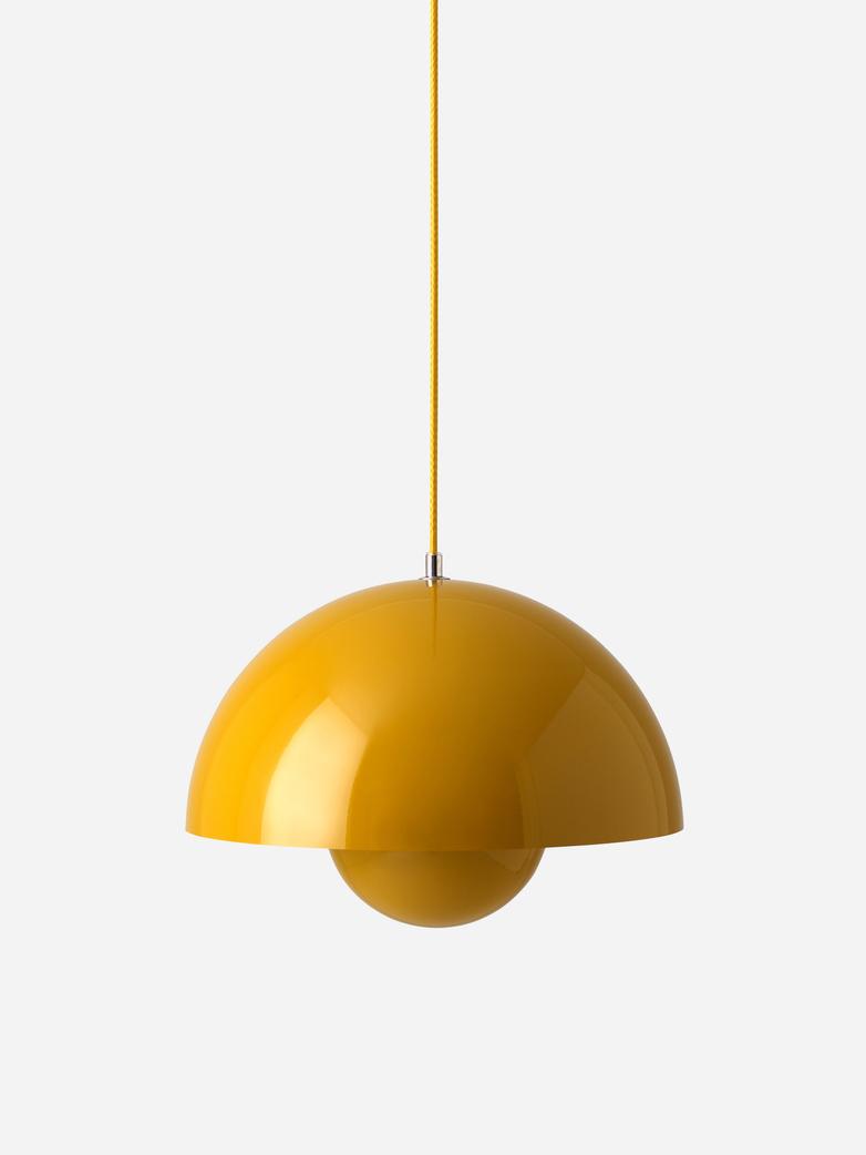 Flowerpot Pendant VP7 – Mustard