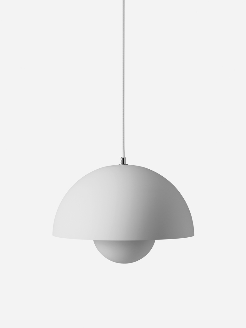 Flowerpot Pendant VP7 – Matt Light Grey