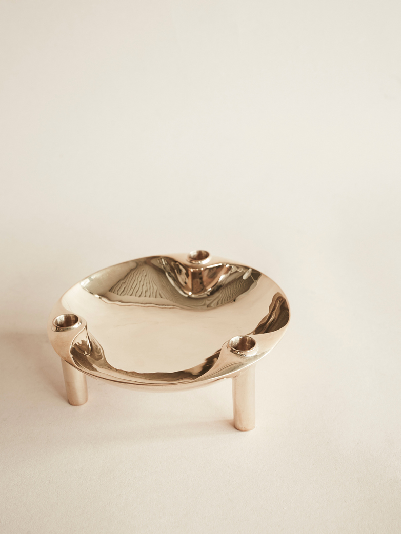 Nagel Bowl Solid Brass