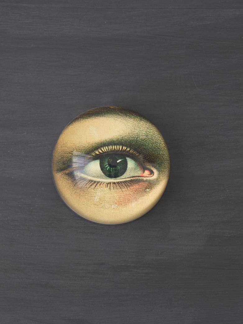 Paperweight Dome Eye Left
