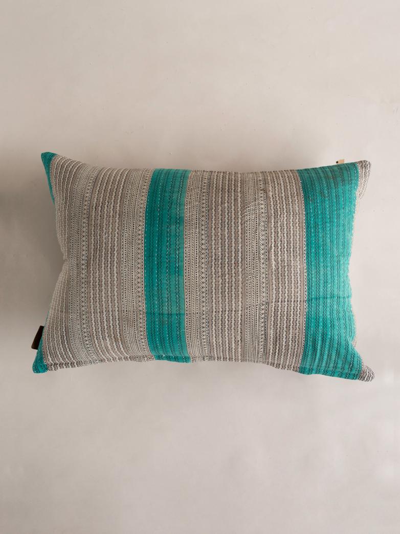 Sari Kantha – Stripe –50x70
