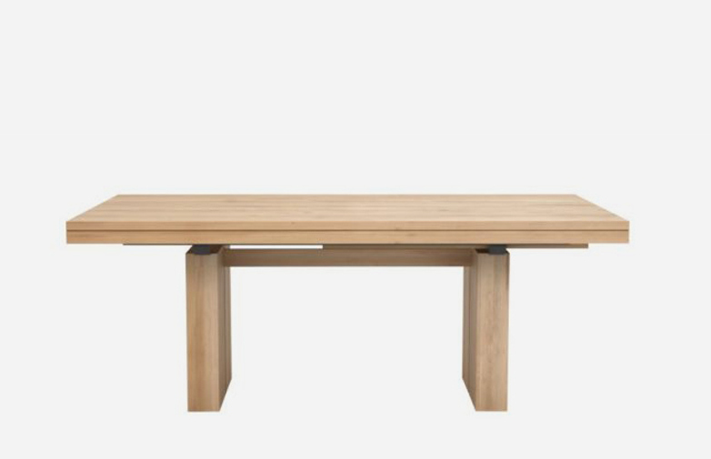 Double Extendable Table – Oak