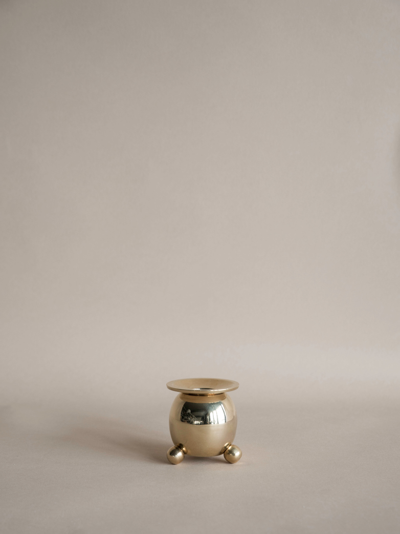 Candle Holder 5,5 cm Brass