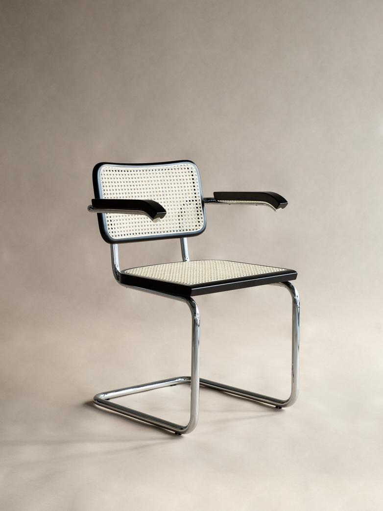 Bauhaus Armchair MB05 - Black Frame