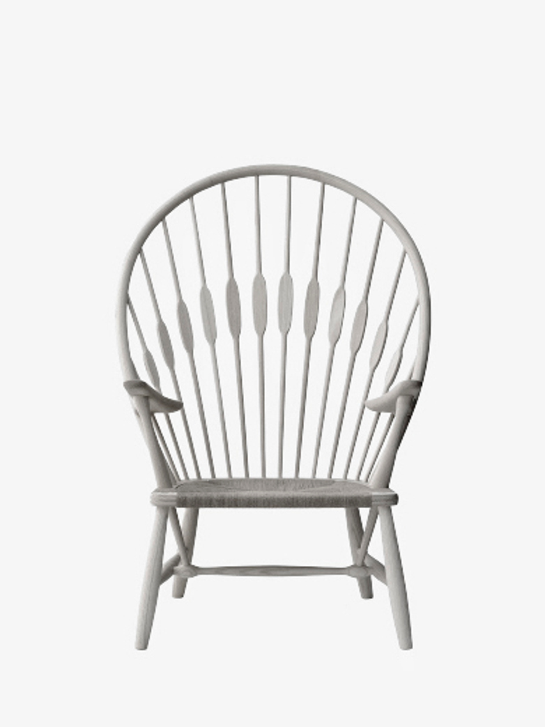PP550 Peacock Chair – Lacquered Oak