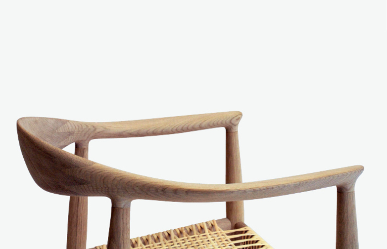 PP501 The Chair – Soaptreated Oak – Cane