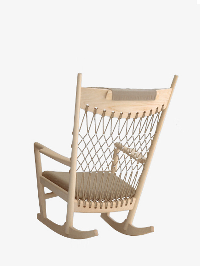 PP124 Rocking Chair – Soaptreated Ash