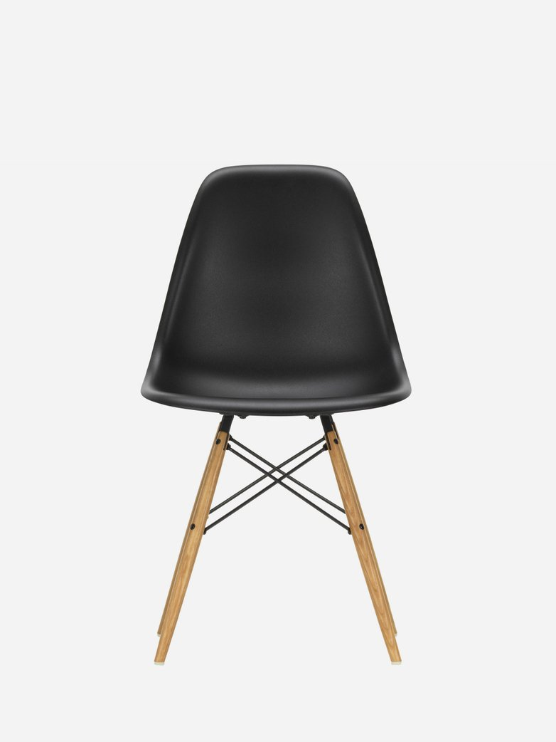 Eames Plastic Chair – DSW – Black