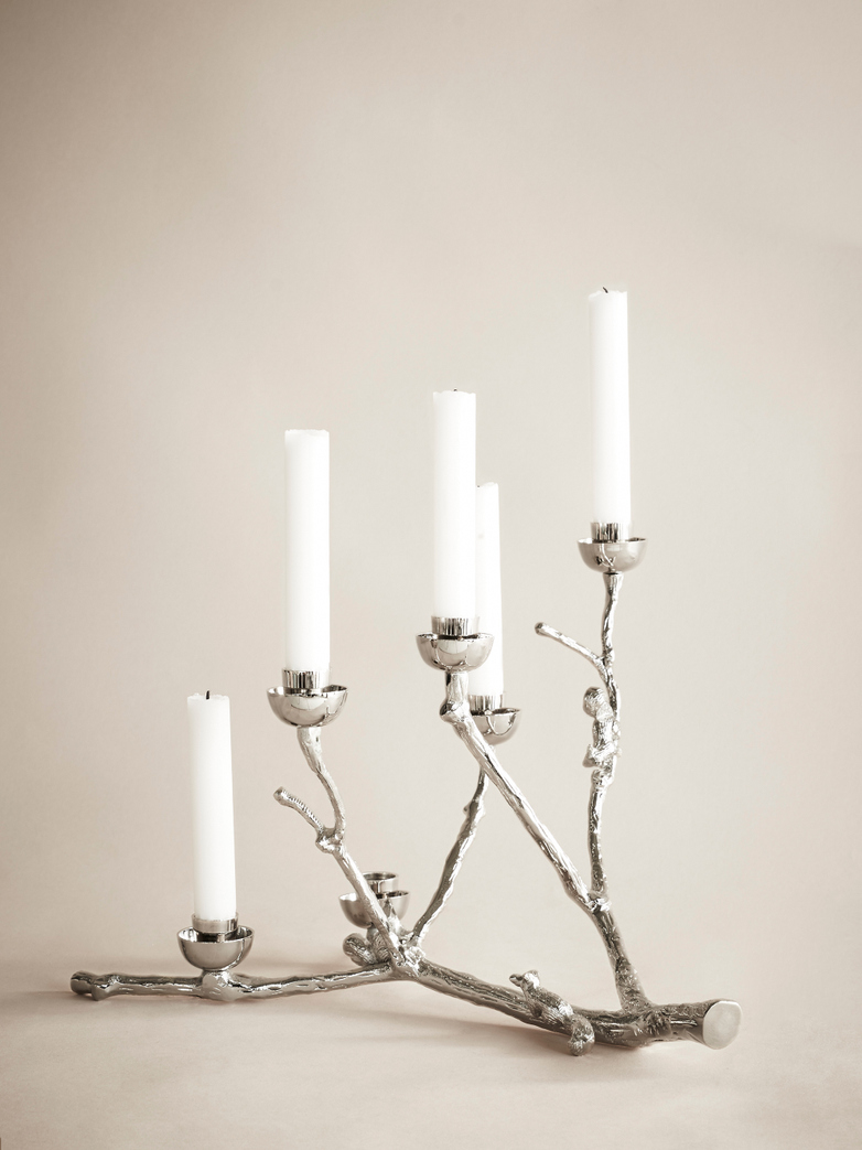 Twiggy Candle Holder – Squirrels
