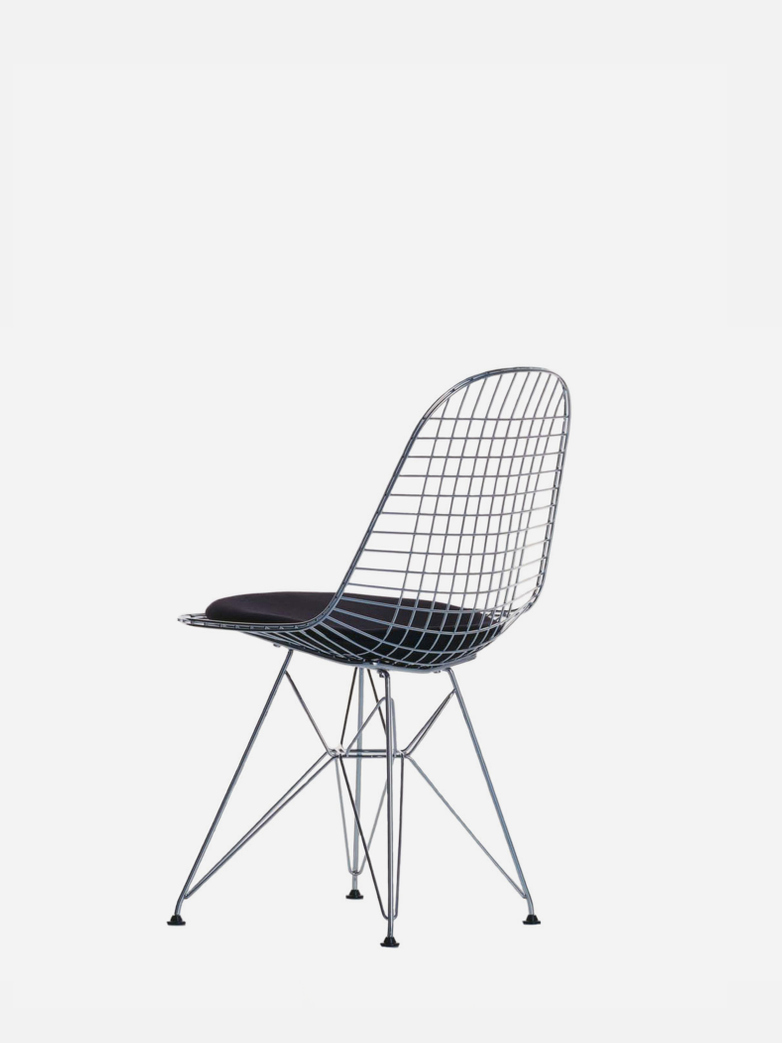 Wire Chair DKR 5 – Chrome