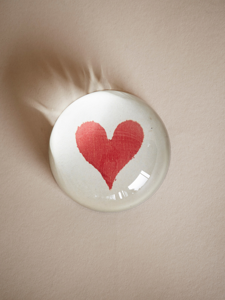 Paperweight Dome – Heart