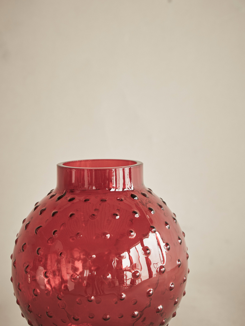 Story Candle Holder – Red
