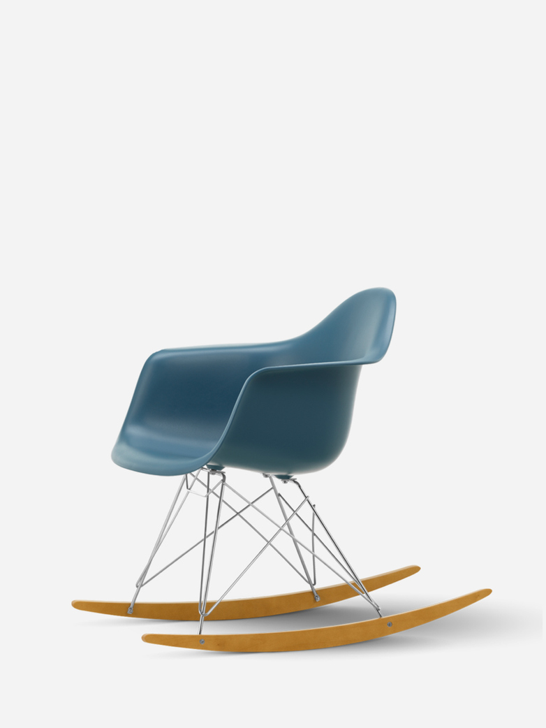 Eames Plastic Armchair – RAR – Sea Blue