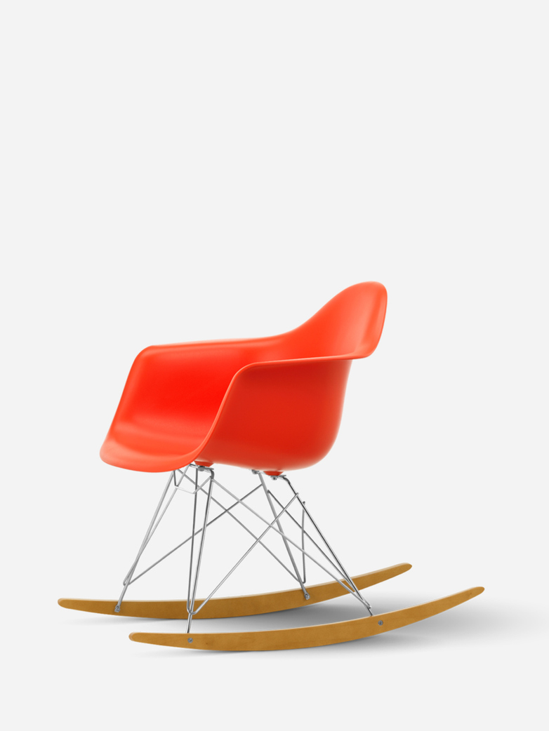 Eames Plastic Armchair – RAR – Poppy Red
