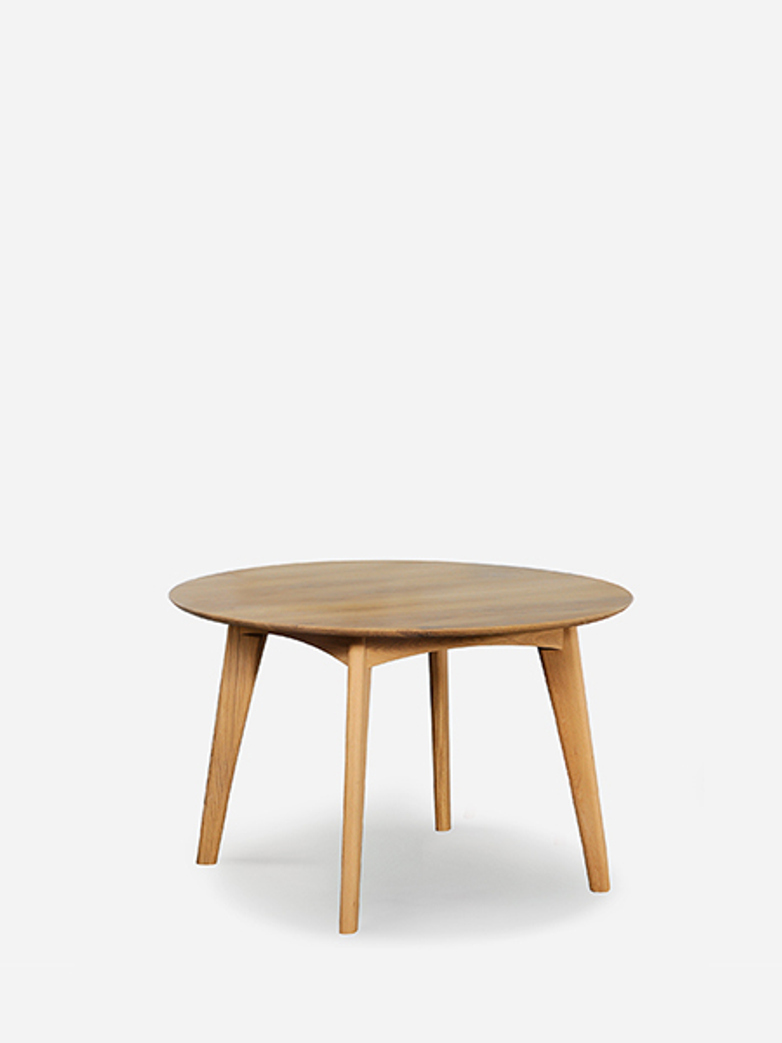 Osso Round Dining Table – Oak – Ø120