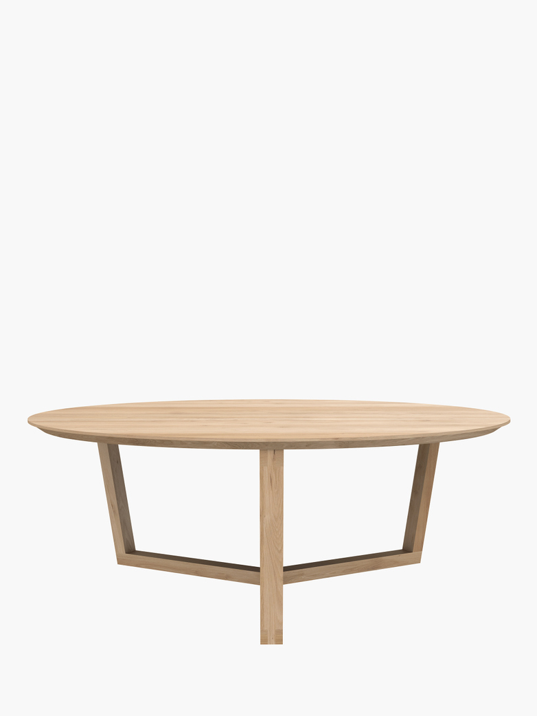Tripod Coffee Table – Oak – Ø96