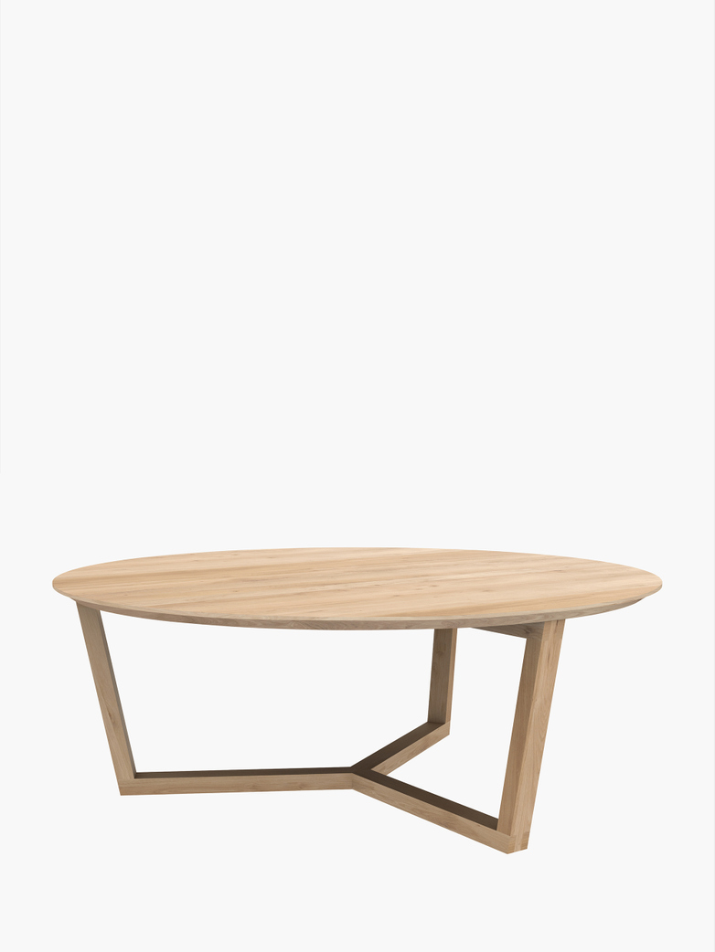 Tripod Coffee Table – Oak – Ø96