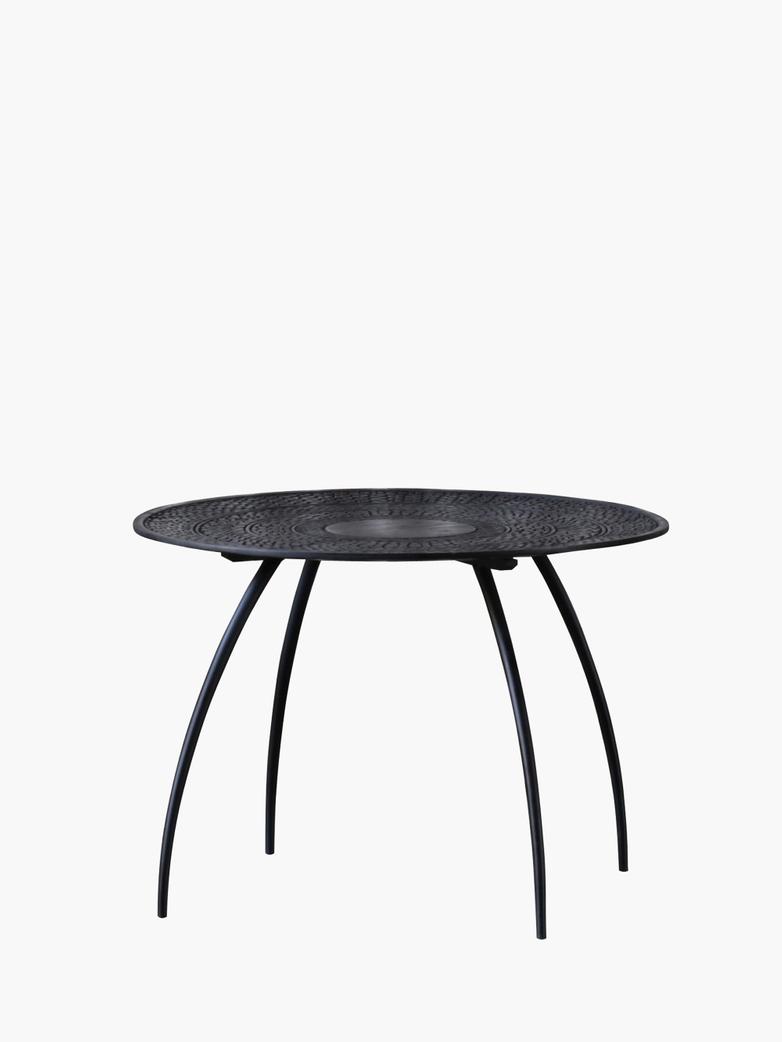 Teak Tabwa Thin side table