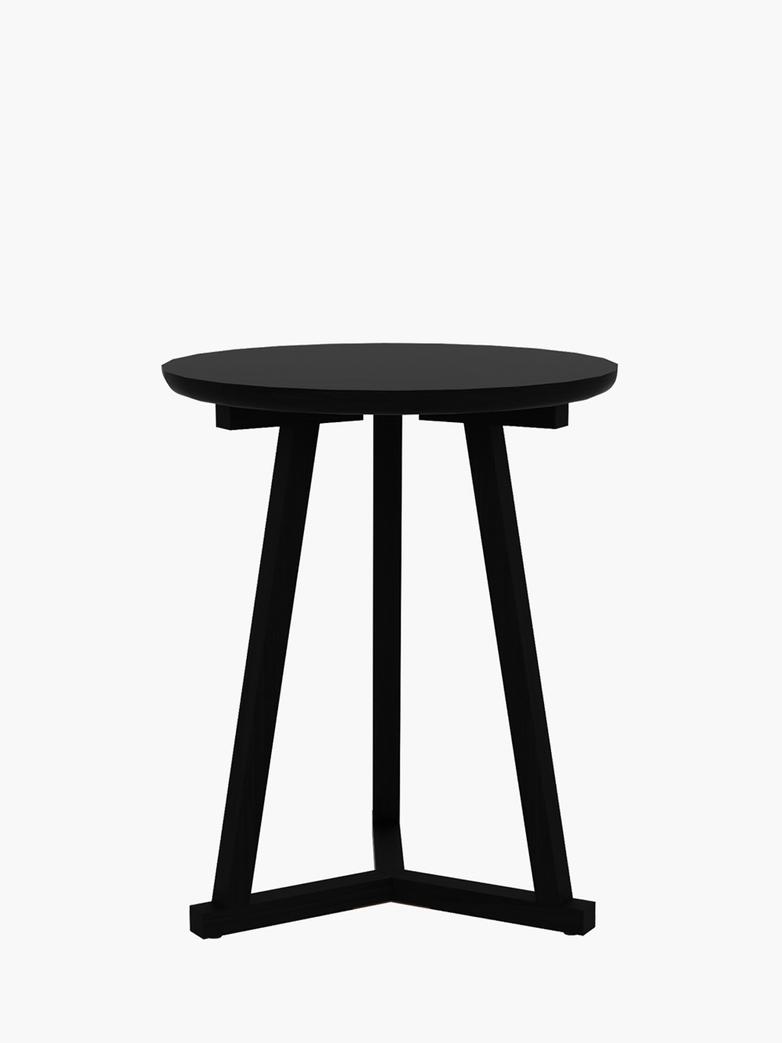 Tripod Side Table – Black – Ø46