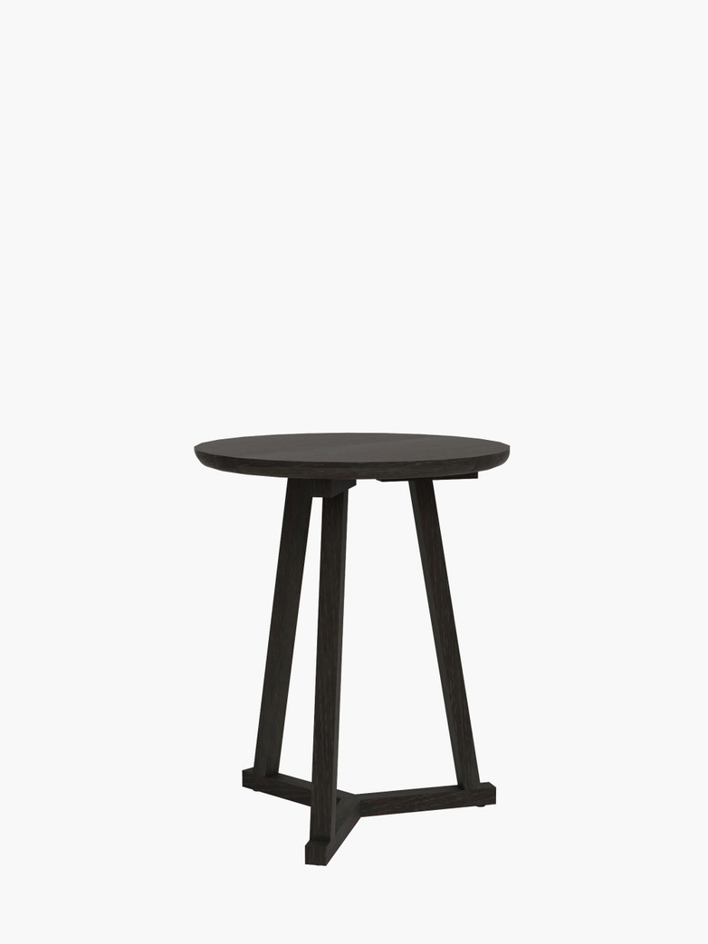 Tripod Side Table – Black – Ø46
