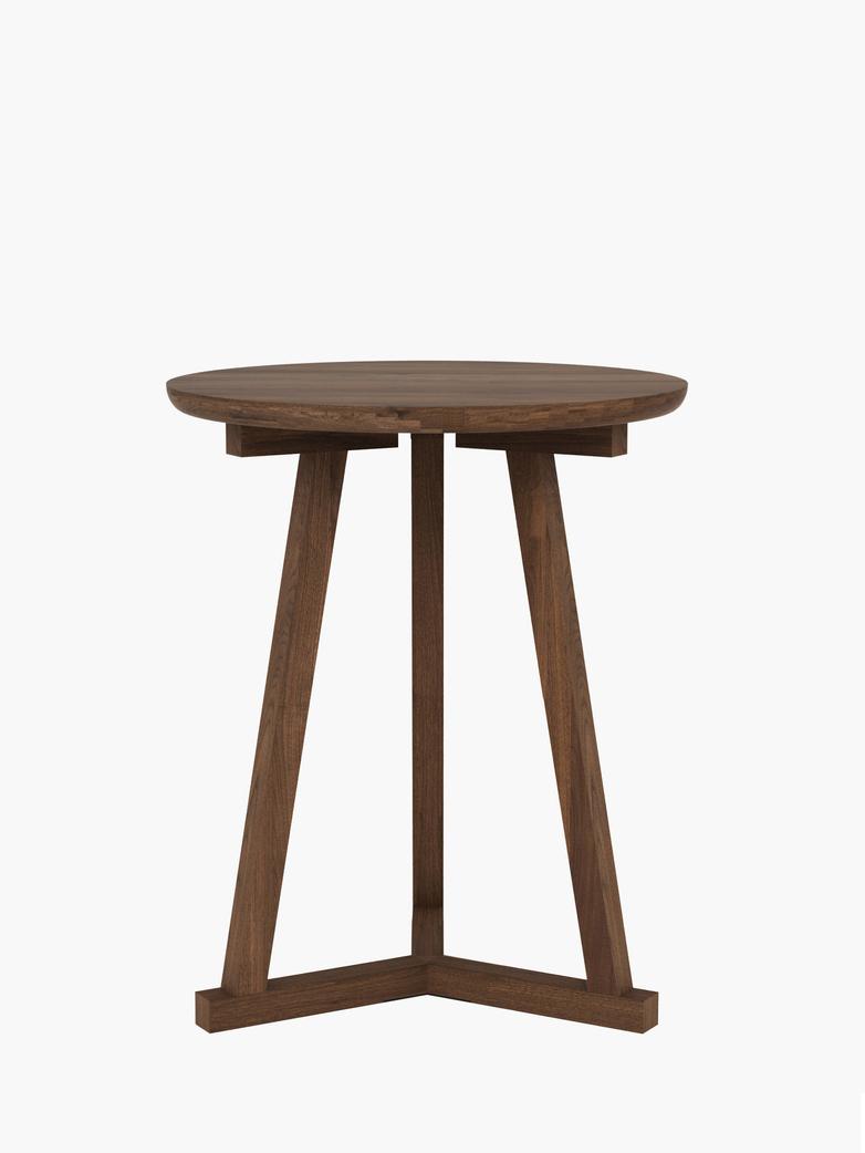 Tripod Side Table – Walnut – Ø46