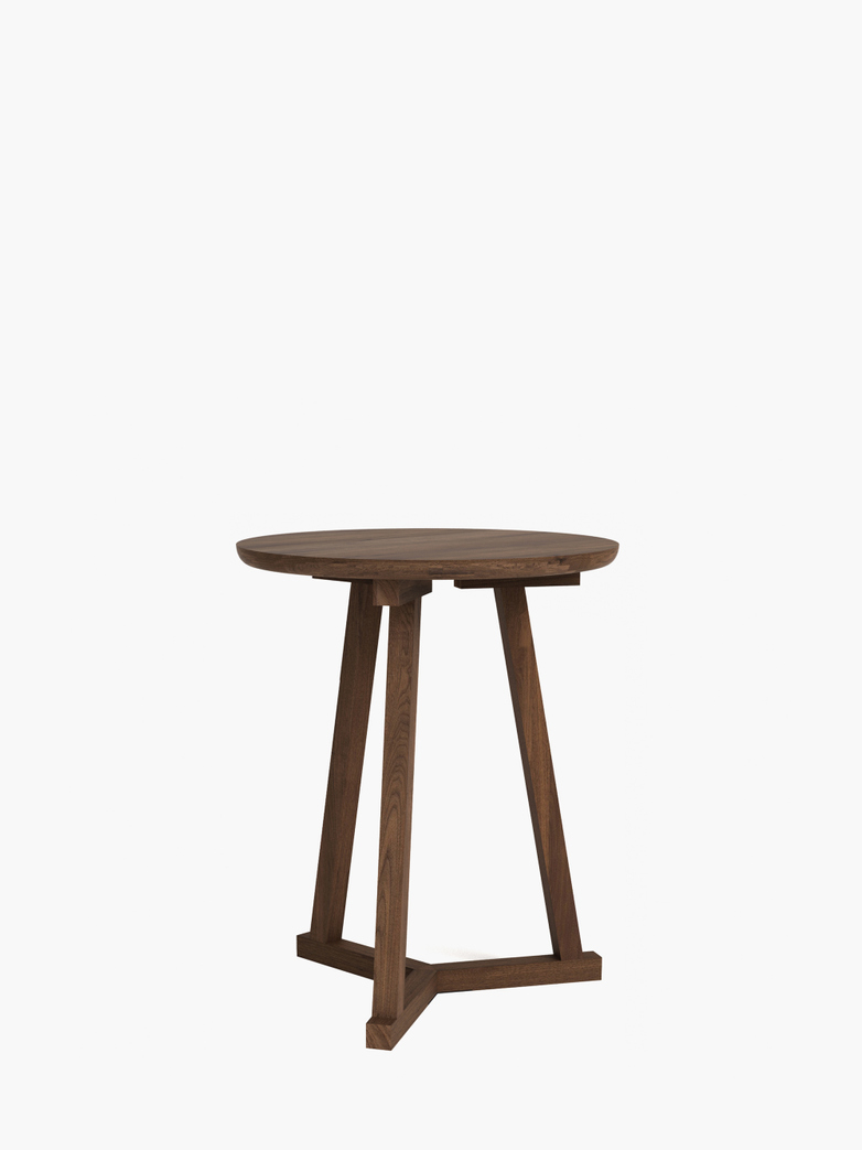 Tripod Side Table – Walnut – Ø46
