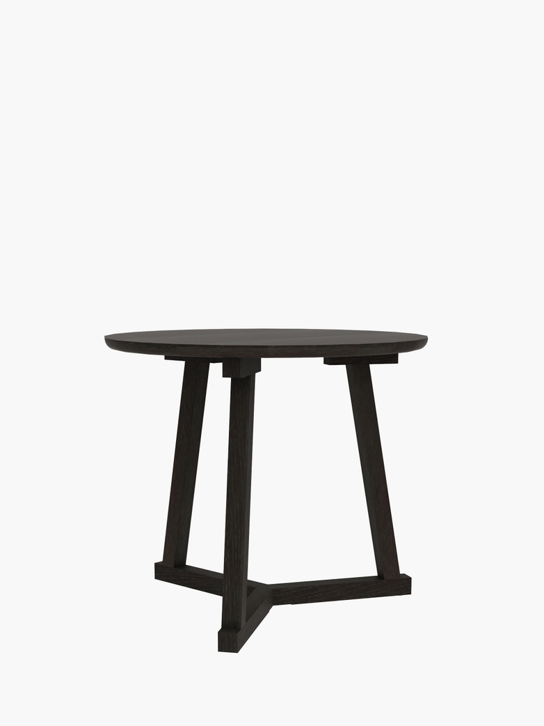 Tripod Side Table – Black – Ø70