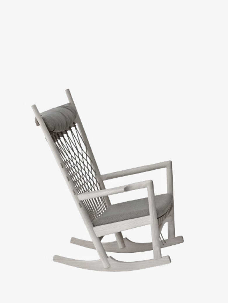 PP124 Rocking Chair – Soaptreated Oak