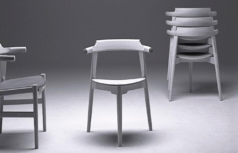 PP58/3 Chair – Oiled Beech