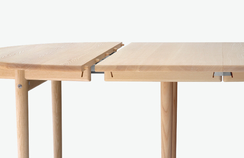 PP70 Table – Soaptreated Ash – Ø140