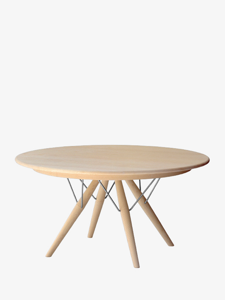 PP75 Table – Soaptreated Ash – Ø140