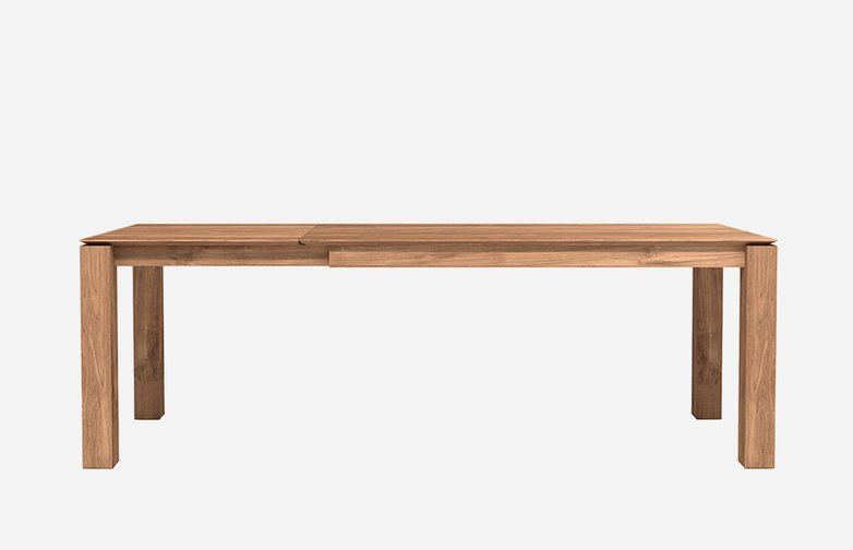 Slice Extendable Dining Table – Teak