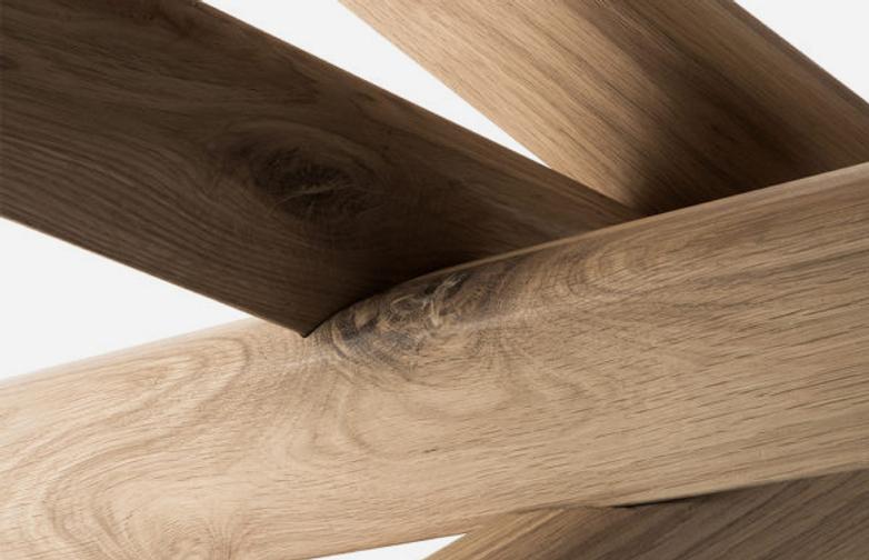Mikado Dining Table – Oak – 280 x 110
