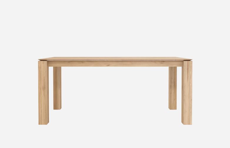 Slice Dining Table – Oak – 150 x 150