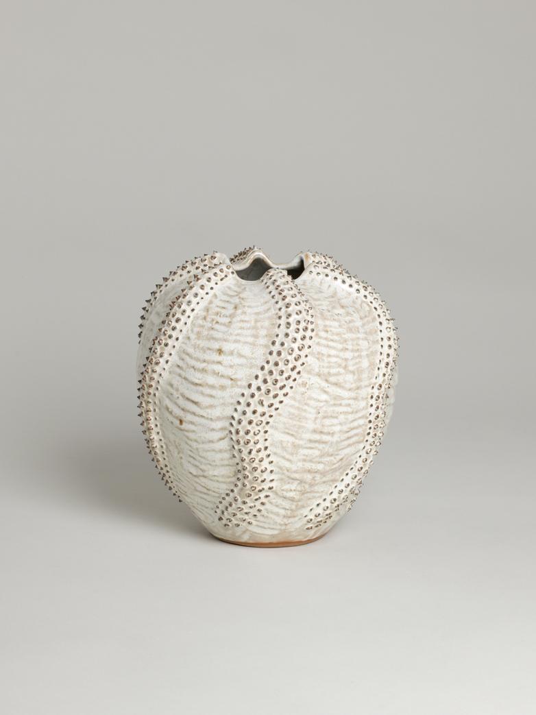 Vase Round Urchin Glazed