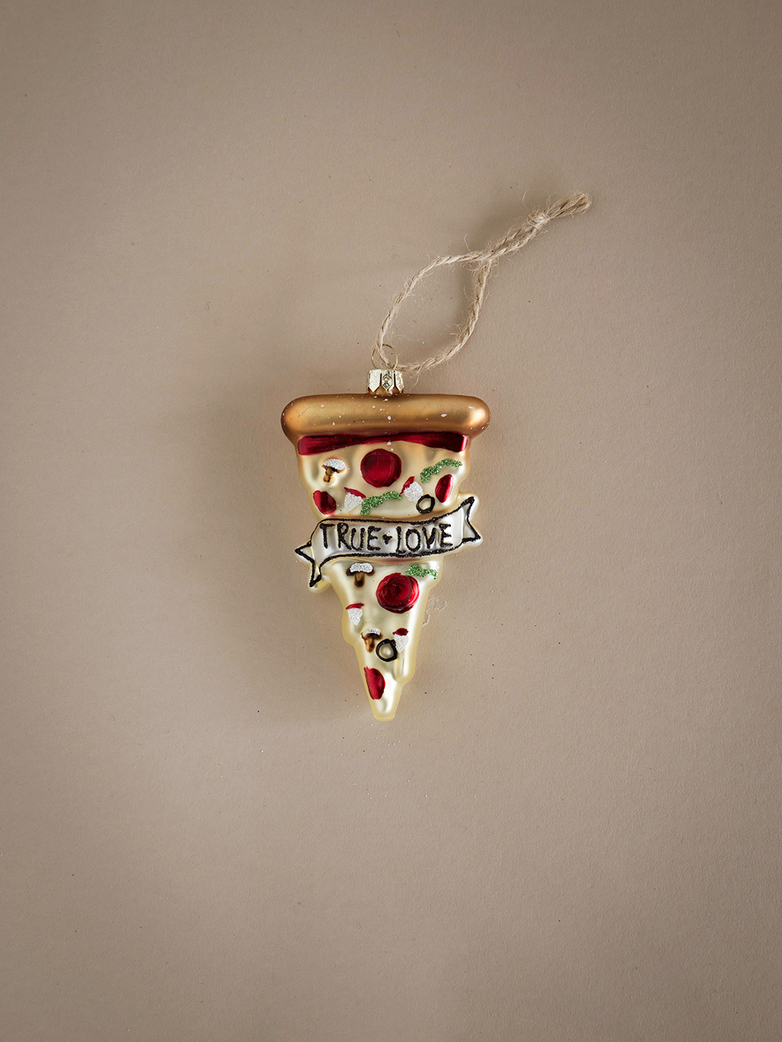 True Love Pizza Ornament