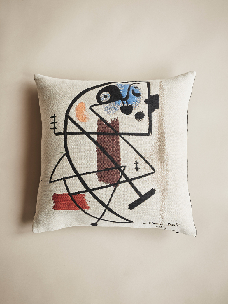 Miro Cushion – Peinture – 45 x 45