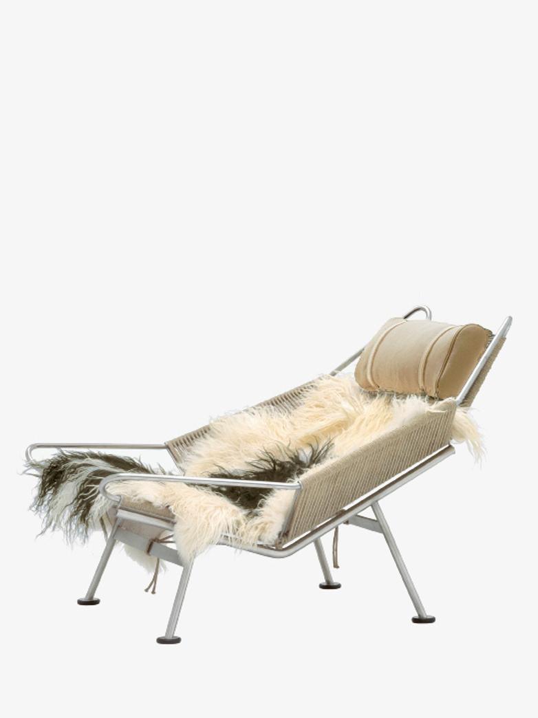 PP225 Flag Halyard Chair – Vegetal Leather – Polished